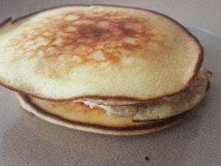 DIY: Low carb fluffy pancakes