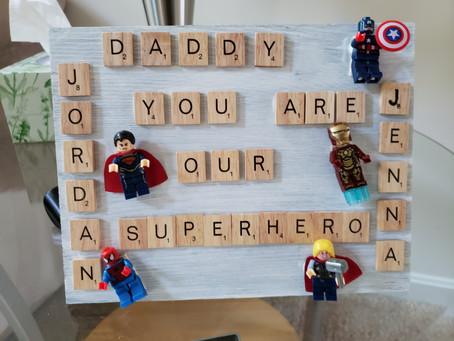 DIY: Superhero dad - Gifts for dad