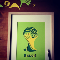 Soccer papercraft