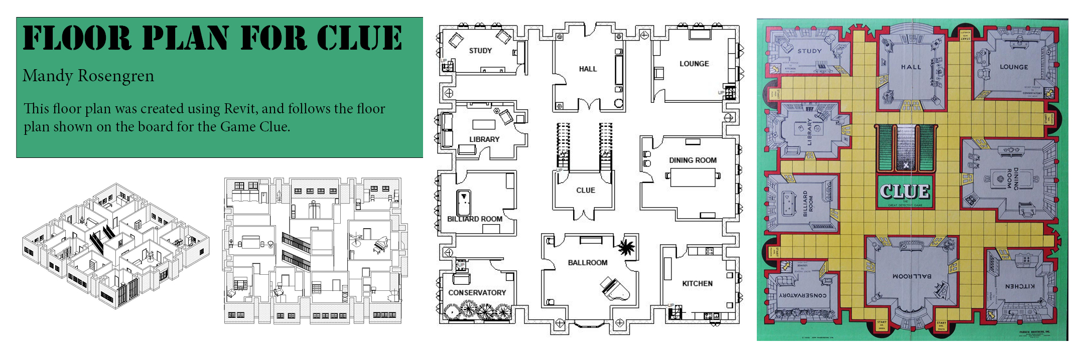 Floor Plan for Clue