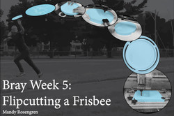 Flipcutting a Frisbee