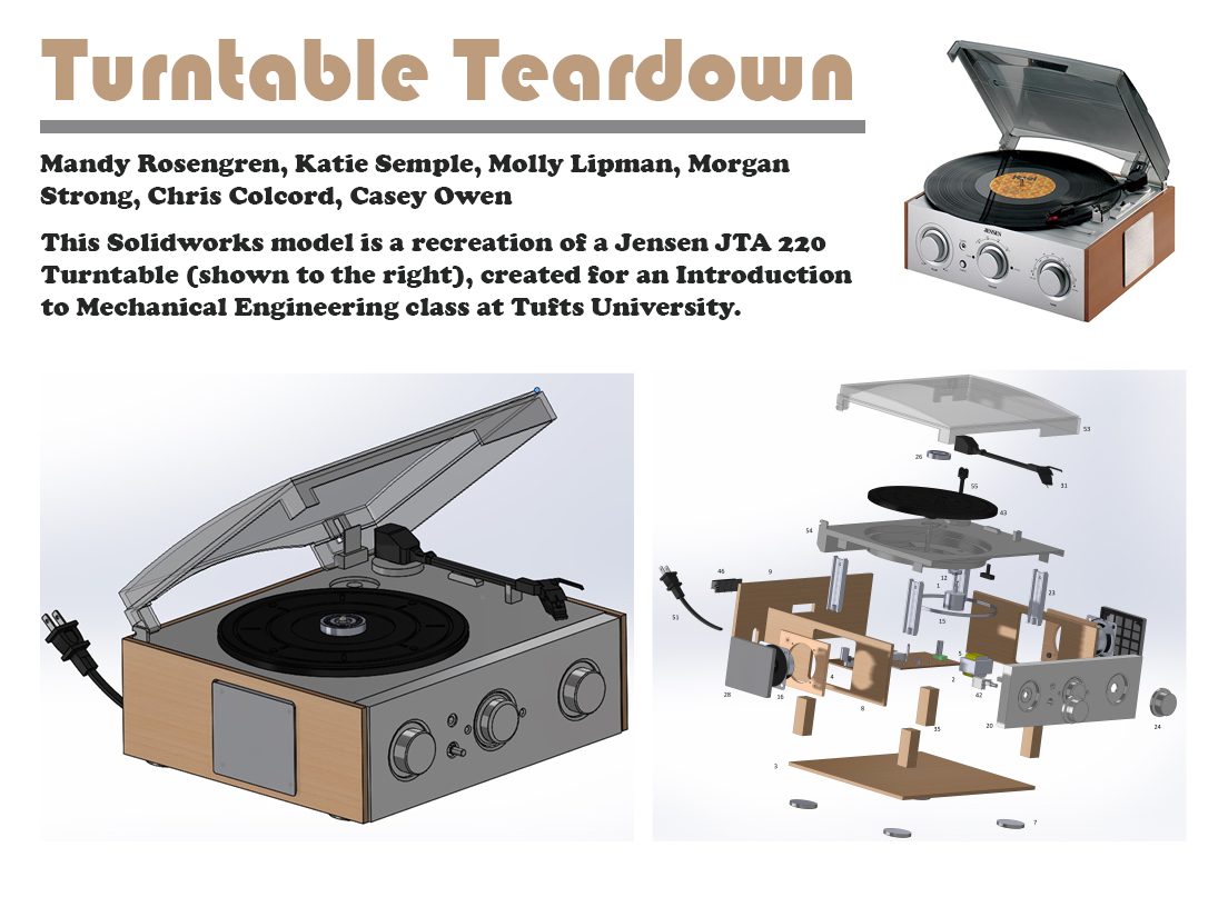 Turntable Teardown