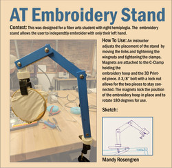 AT Embroidery Stand