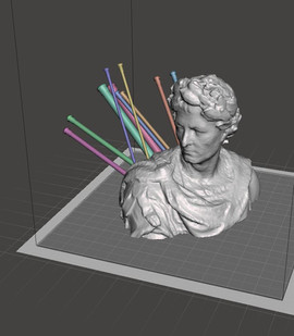 Caesar Knitting Needle Holder