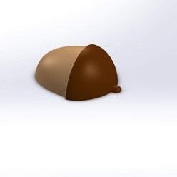 Acorn Chocolate Mold