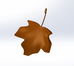 Leaf Charm for a necklace
