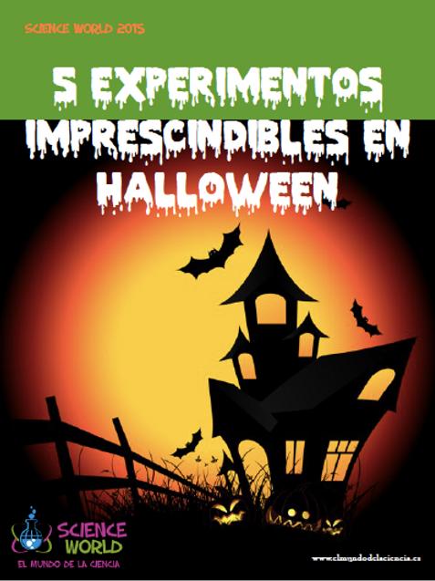 """Libro """"Experimentos de Halloween"""""""