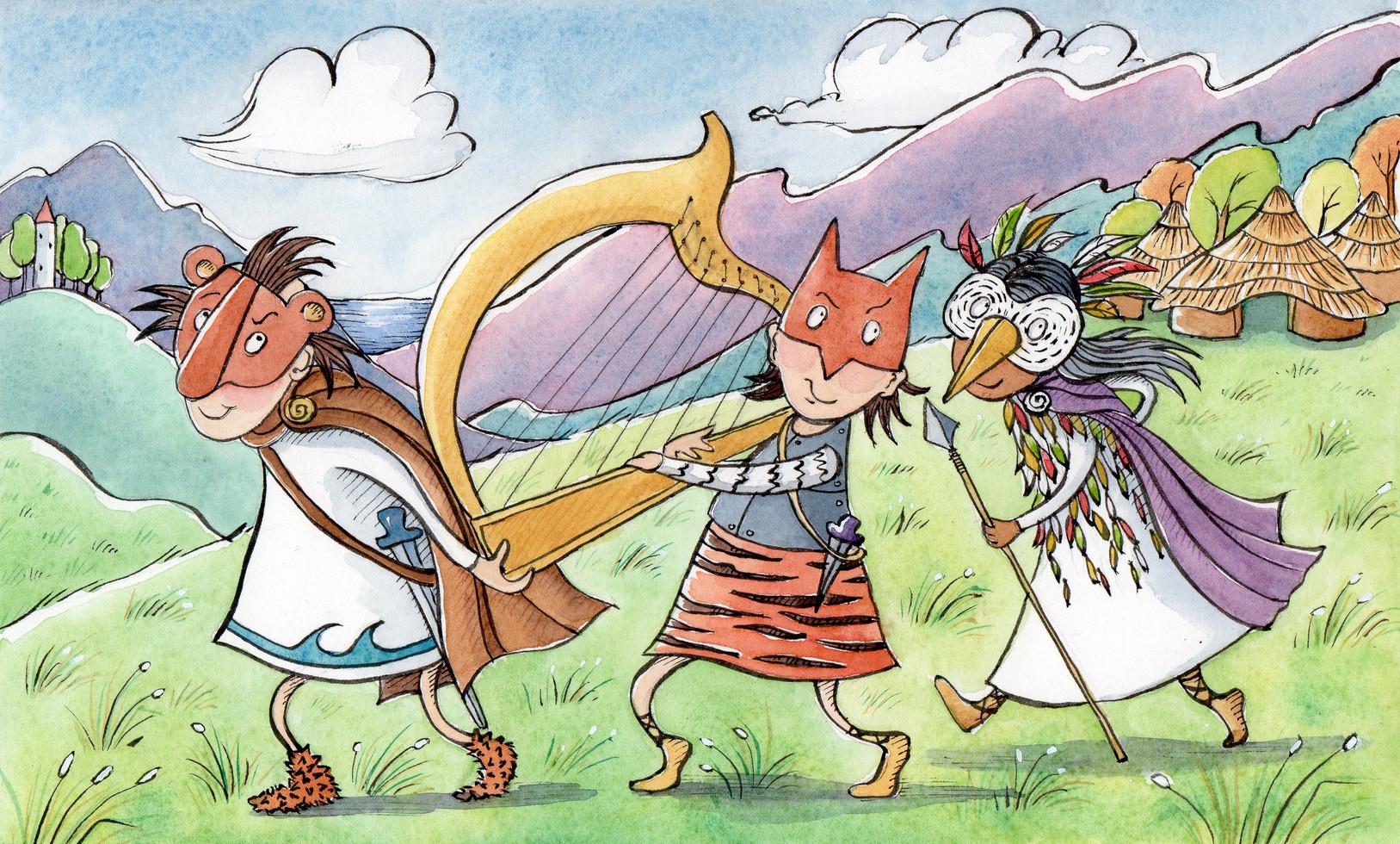 Daghda's Harp verse 3