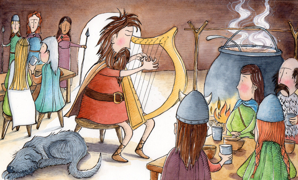Daghda's Harp verse 2