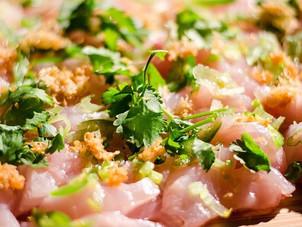 Easy Seared Yellowtail Sashimi