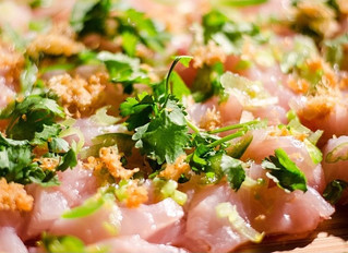 Easy Seared Yellowtail Sashimi