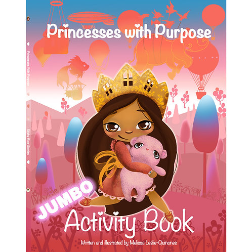Princesses With Purpose Activity Book: Coloring and Activities