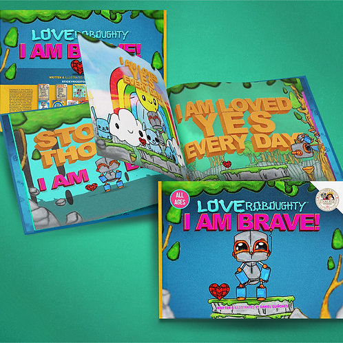 """I AM BRAVE"" Soft Cover Book"
