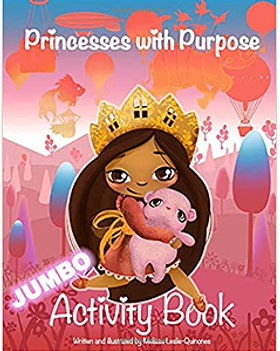 Princesses With Purpose Activity Book.jp