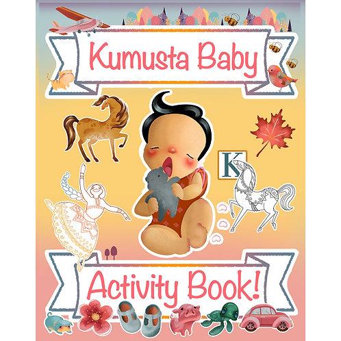 Kumusta Baby! Bilingual Activity Book: Early learning Tagalog bilingual book