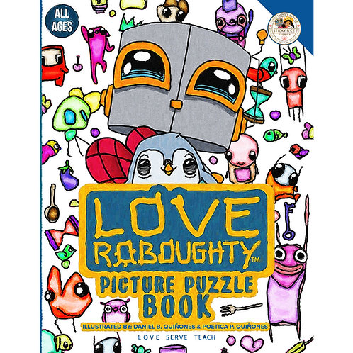 Love Roboughty Picture Puzzle Book