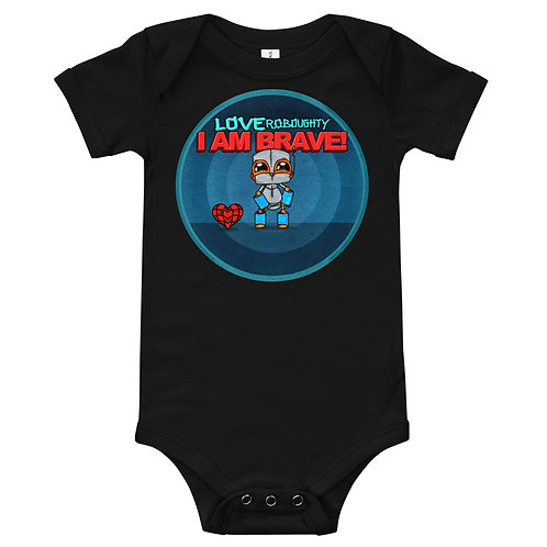 I AM BRAVE - Baby short sleeve one piece