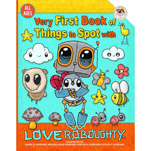 Very First Book of Things to Spot with Love Roboughty