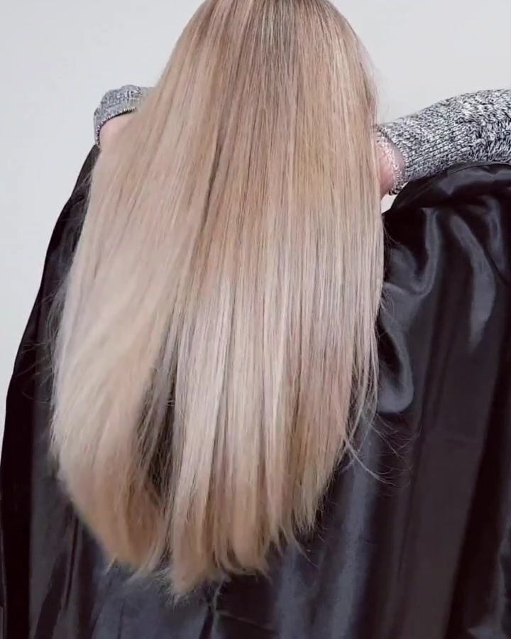 Work with a hair like this is a pure pleasure 😍 Delicate Natural Blonde for Agata 🥰 Before pic in comments section below #omgstudio #carlow #haircolor #hairsalon #hairdresser #carlowhairstylist