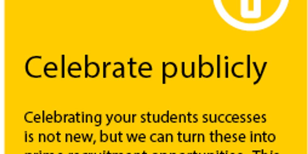 Knowledge Blast #: Celebrate Publicl