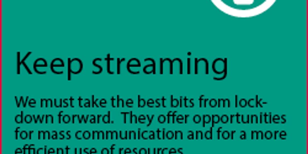 Knowledge Blast #8: Keep Streaming (1)