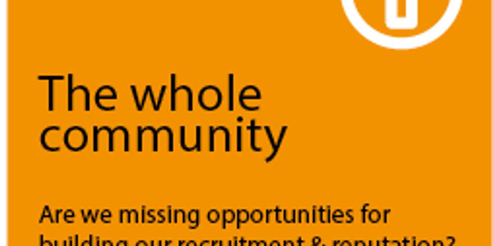 Knowledge Blast #5: The whole community