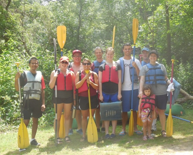 Kayaking on Whitewater River
