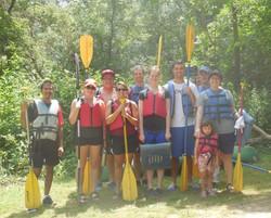 Kayaking on Whitewater River