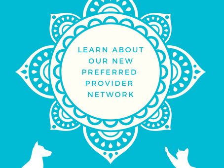 Announcing Our New Preferred Provider Network & Referral Program
