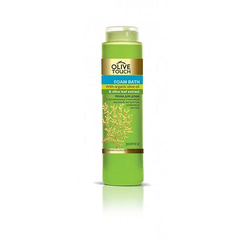 Verfrissende douchegel met olijfbladextract