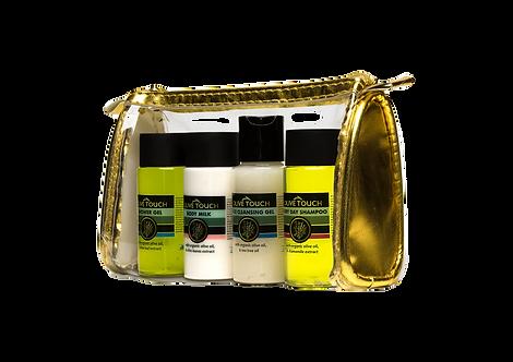 Travel Kit verzorgingsproducten van Olive Touch