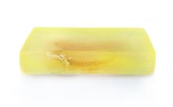 Handgemaakte zeep met citroenextract 100gr