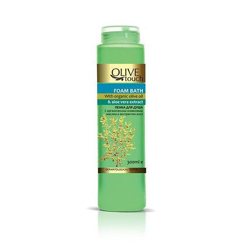 Herstellende douchegel met aloë vera en bio olijfolie