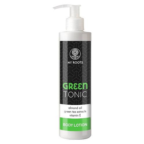 GREEN TONIC Body Lotion Almond Oil 250ml