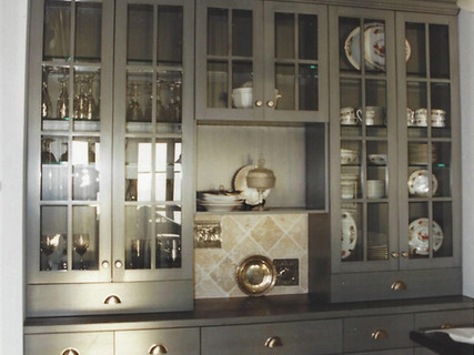 Special Glazed Cabinetry