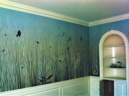 Custom-made Mural in Private Home