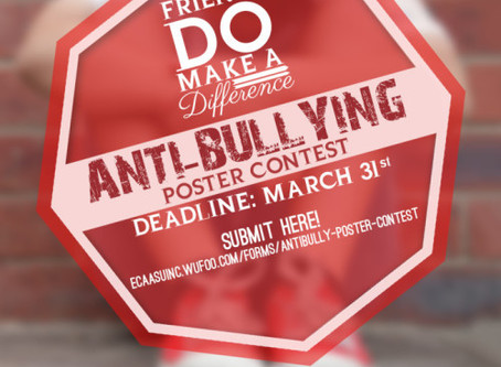 Friends DO Make A Difference Campaign - Anti-Bullying Poster Competition