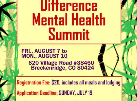 Friends Mental Health Summit