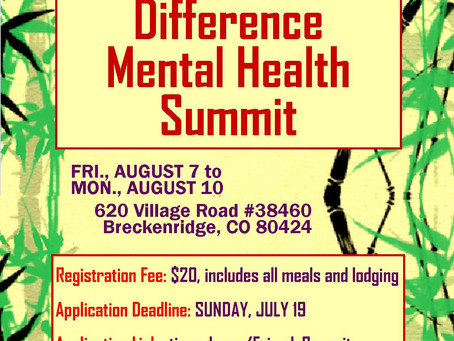 Friends Mental Health Summit