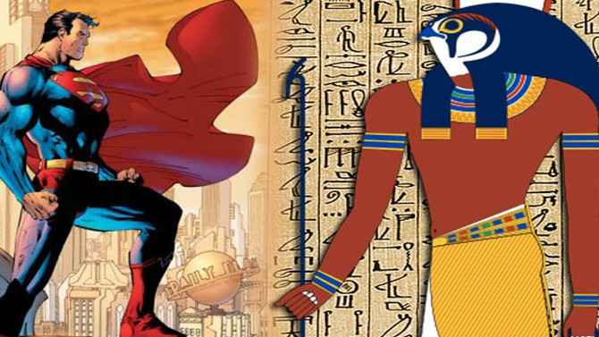 Was Comic Book Hero Superman Influenced by the Ancient Egyptian Sun God Horus?