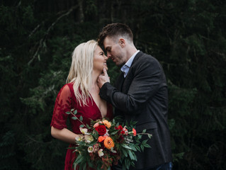 Stef & Marcus {Valentines Day Inspired Shoot}