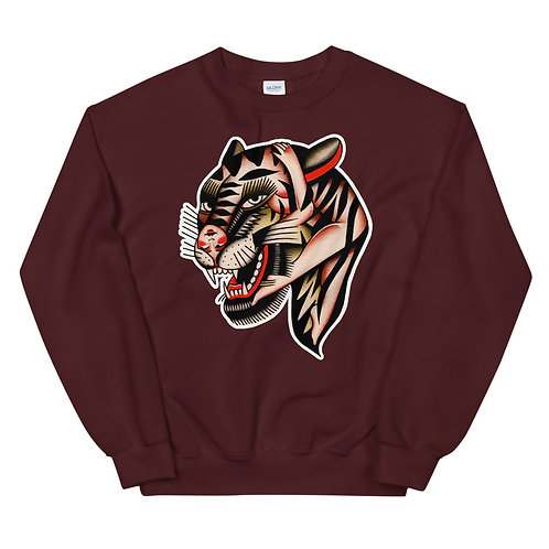 Botanical Tiger Unisex Sweatshirt
