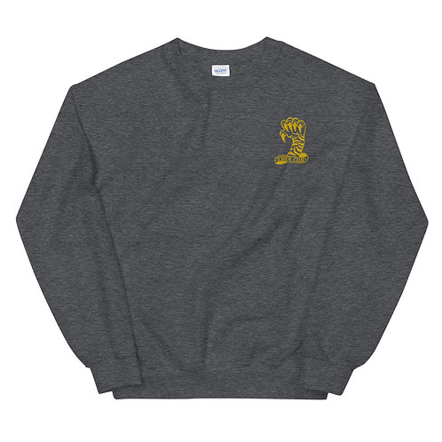 Embroidered Tiger Clue Unisex Crew neck Sweatshirt