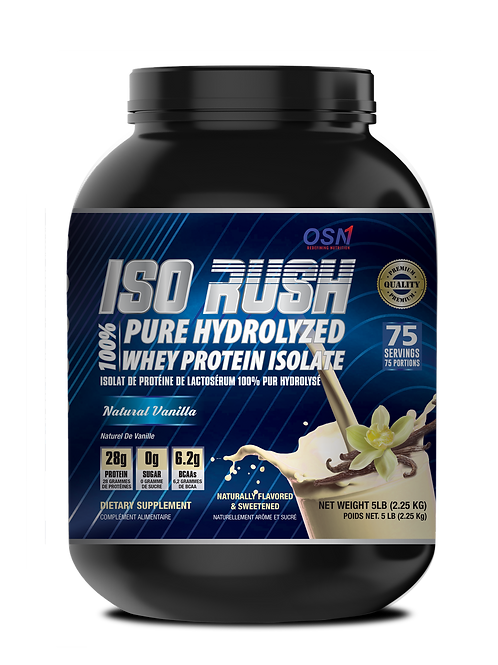 HYDROLYZED WHEY PROTEIN ISOLATE | NATURAL VANILLA FLAVOUR