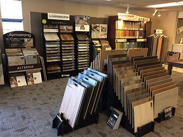 LVT WPC Vinyl Plank Showroom Seattle