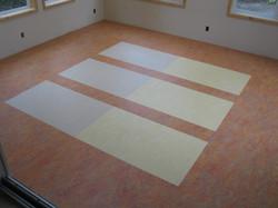 Custom Marmoleum floor sheet