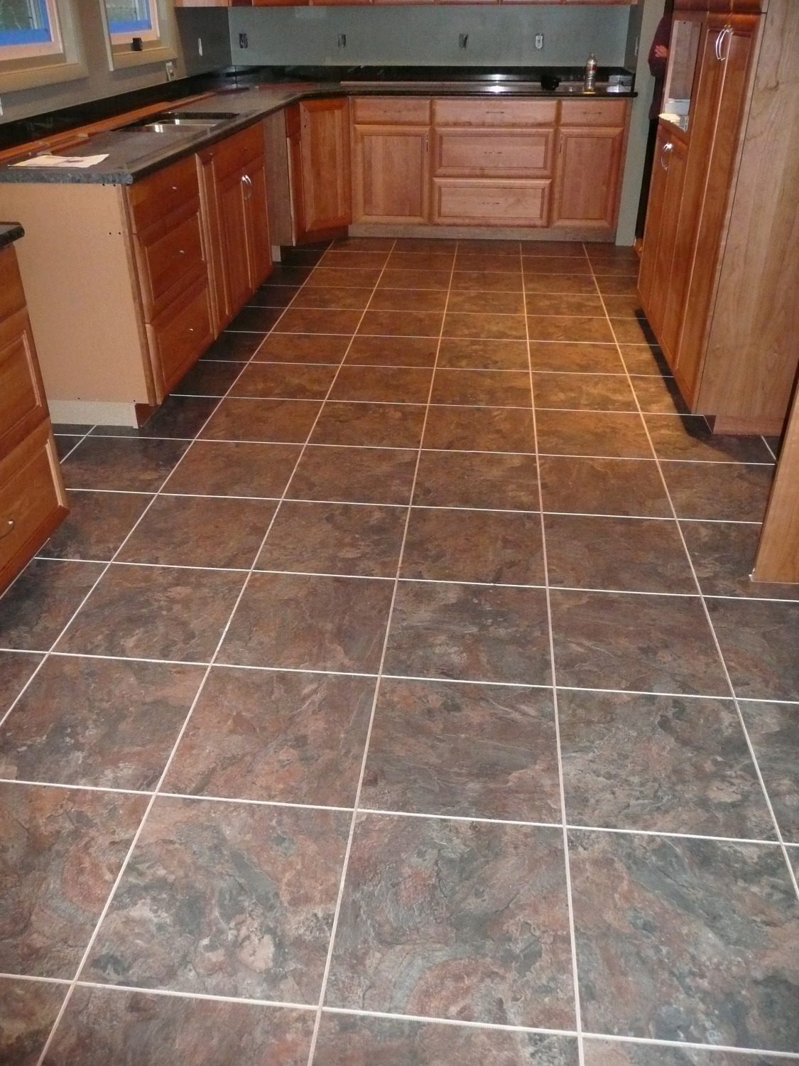 vinyl tile lvt kitchen seattle