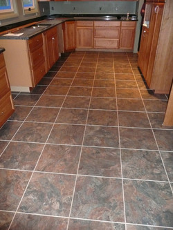 vinyl tile lvt kitchen seattle