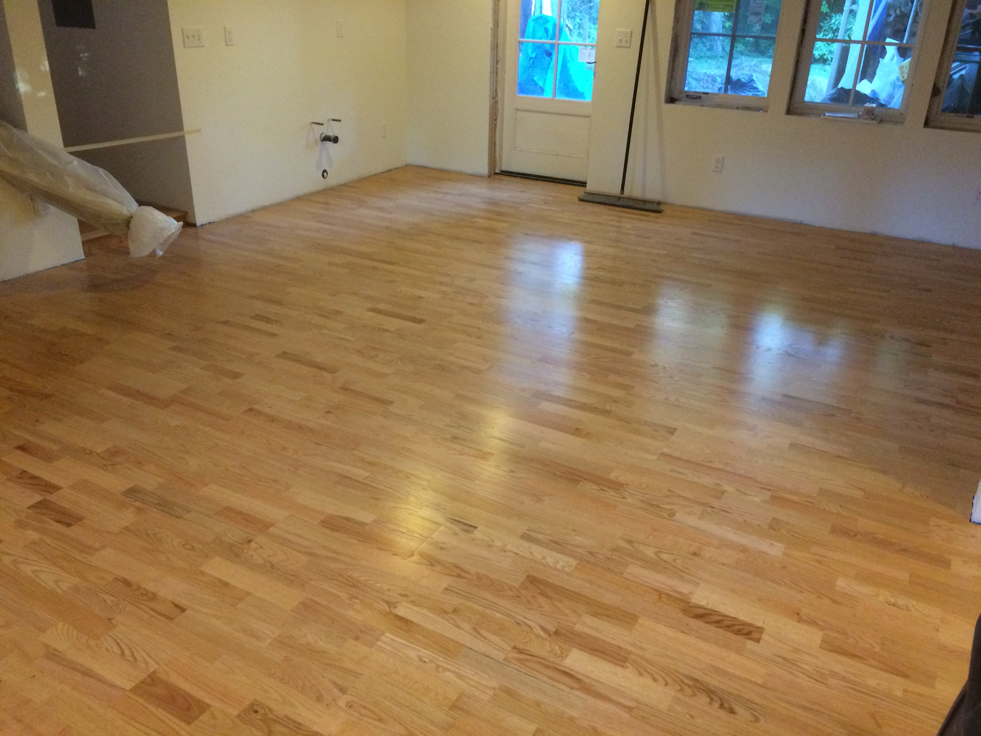engineered oak hardwood radiant heat