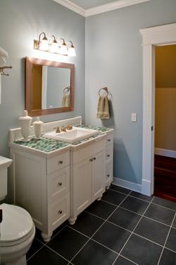 tiled vanity top tile bathroom floor